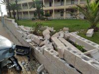 Reparación del Muro / Mauer Reparatur / Wall Restoration