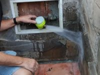 Corte de Agua / Absperrung der Wasserversorgung / Water cut off